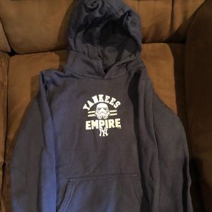 Yankees boys Star Wars sweatshirt
